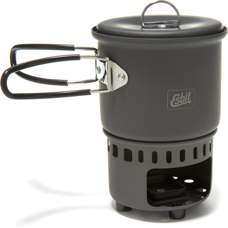 Esbit solid fuel cookset