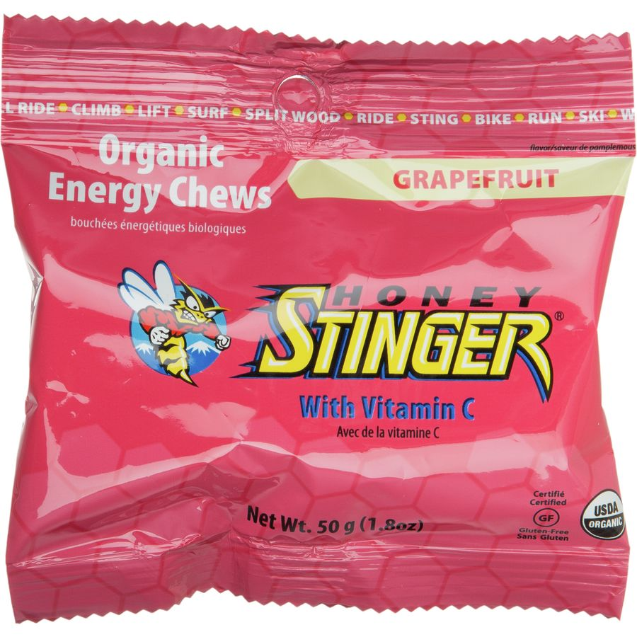 Honey stinger chews 1