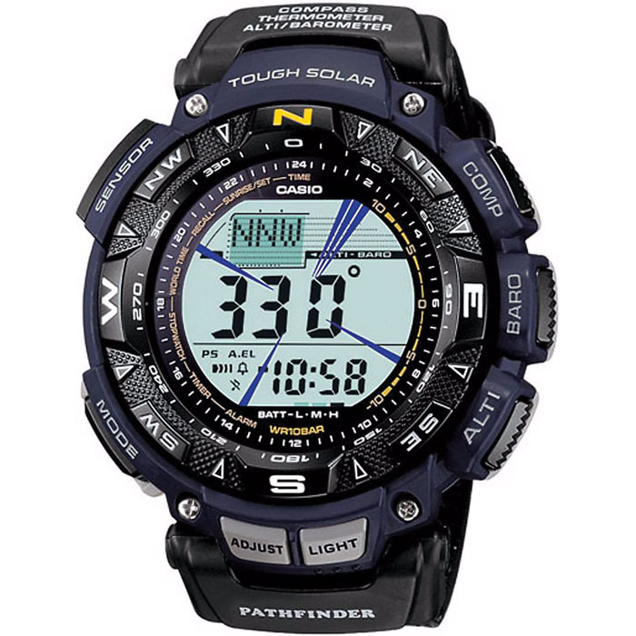 Casio protrek triple sensor digital watch 1