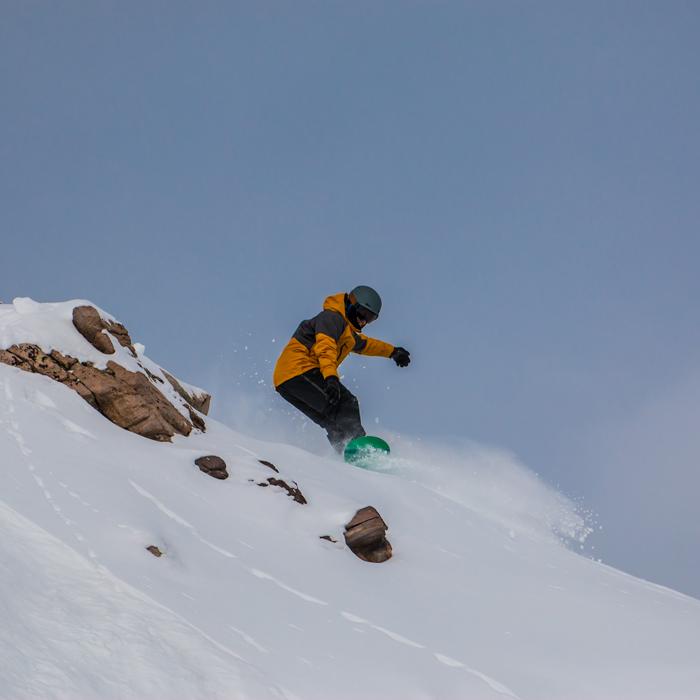 Ski Tuning 101: Fixing a Core Shot