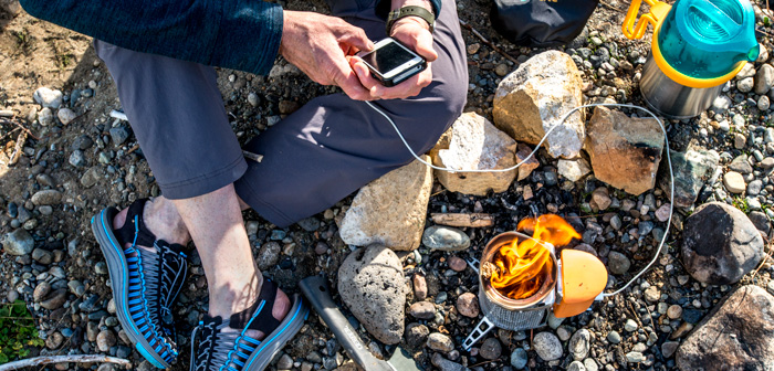Recharging in the Woods: 3 Ways to Charge Up
