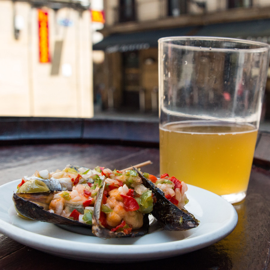 Cider & Seafood in Northern Spain