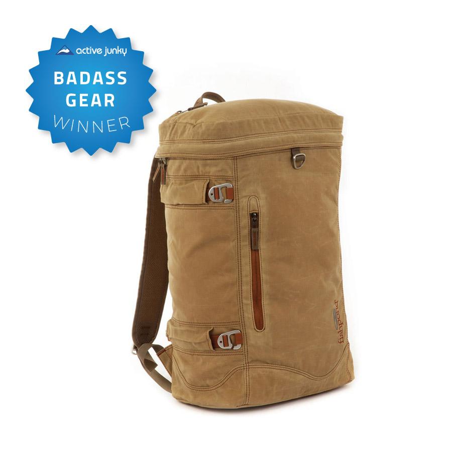 Fishpond river bank backpack 1