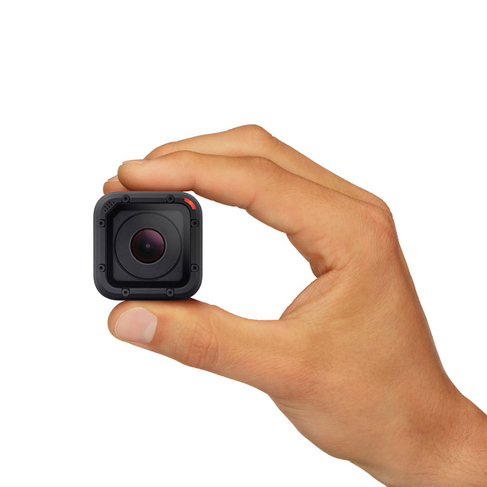 New GoPro Hero 4 Session:  Capability, Cubed