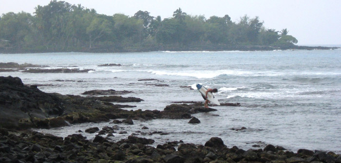 Kona Chronicles: Surfing in Kona