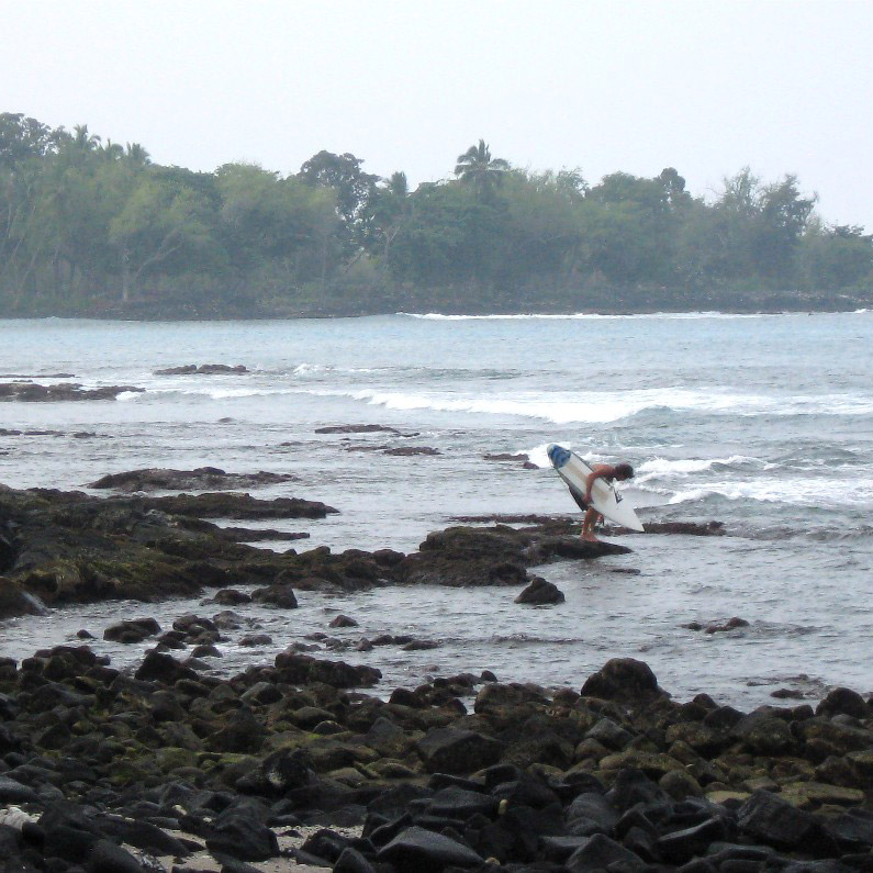 Kona Chronicles: Surfing in Kona