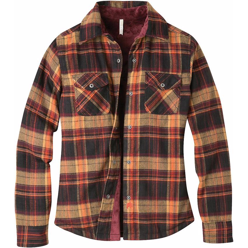 Mountain Khakis Women S Christi Fleece Lined Shirt