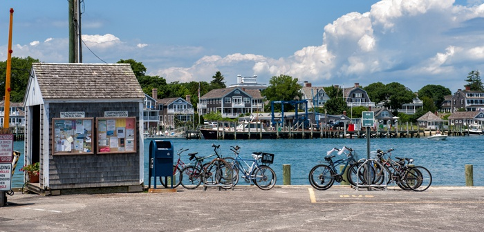 Biking Martha's Vineyard