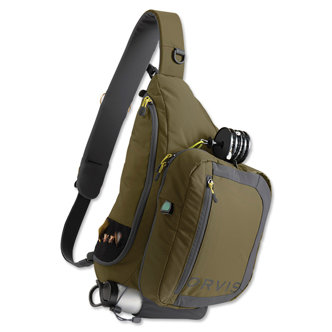 The orvis safe passage guide sling pack review for Fishing sling pack