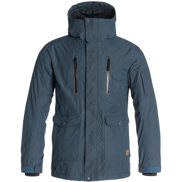 Quiksilver dark and stormy jacket 1