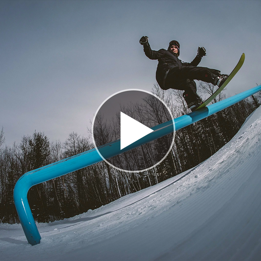 Snowboarder Seb Toots Nails All 8 Variations of the 270