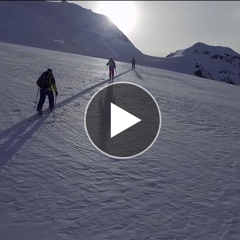 Ski Touring in Switzerland with Salomon Freeski